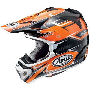 Casque Cross Arai Mx-v Sly Orange 2018