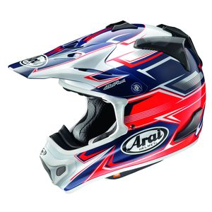 Casque cross MX-V SLY ROUGE 2018 Rouge