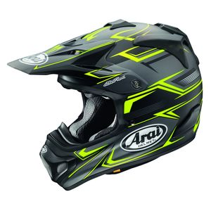 Casque cross MX-V SLY JAUNE 2018 Jaune