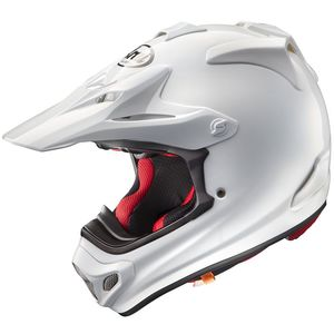 Casque cross MX-V WHITE 2018 Blanc