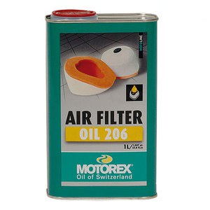 Huile de filtre AIR FILTER OIL 206 1L
