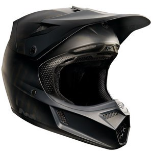 Casque cross V3 YOUTH  -  NOIR MAT 2017 Noir mat