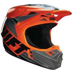 Casque Cross Shift Destockage V1 Assault Race Orange 2017