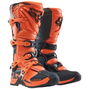 Bottes cross COMP 5Y - ORANGE - 2019 Orange
