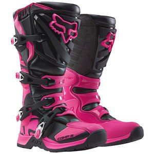 Bottes cross COMP 5  WOMENS - BLACK PINK 2019 Noir/Rose