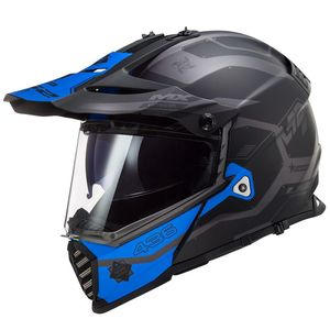 Casque cross PIONEER EVO COBRA 2020 Bleu