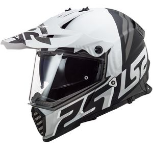Casque cross PIONEER EVO EVOLVE MATT 2020 Blanc/Noir