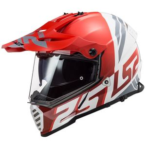 Casque cross PIONEER EVO EVOLVE 2020 Rouge/Blanc