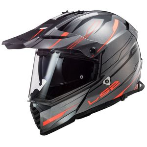 Casque cross PIONEER EVO KNIGHT 2020 Orange