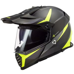 Casque cross PIONEER EVO ROUTER 2020 Jaune Fluo