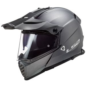 Casque cross PIONEER EVO SOLID MATT 2020 Titanium