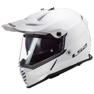 Casque cross PIONEER EVO SOLID 2020 Blanc