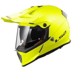 Casque MX436 PIONEER  H-V YELLOW