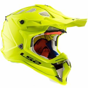 Casque cross MX470 - SUBVERTER - SOLID H-V YELLOW 2019 H-V YELLOW