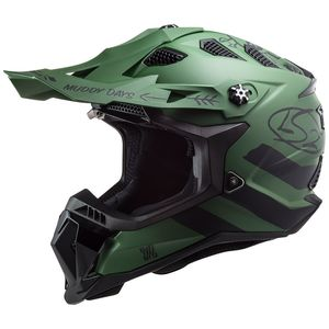 Casque cross MX700 - SUBVERTER EVO - CARGO - MATT MILITARY GREEN 2021 Matt Military Green