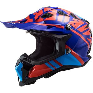 Casque cross MX700 - SUBVERTER EVO - GAMMAX RED BLUE 2021 Red Blue