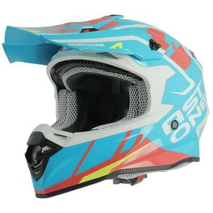 Casque cross MX800 - TROPHY - GLOSS BLUE 2018 Bleu