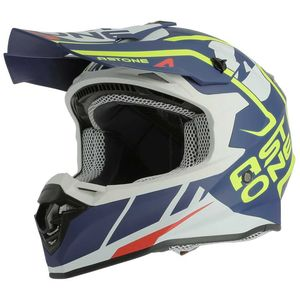 Casque cross MX800 - TROPHY - MATT NAVY 2019 Bleu