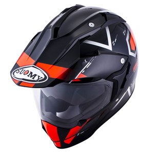 Casque MX TOURER ROAD  Orange