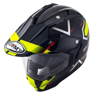 Casque MX TOURER ROAD  Jaune