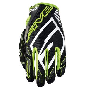 Gants cross MXF PRORIDER S BLACK / FLUO GREEN 2019 Vert