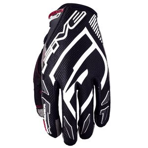 Gants cross MXF PRORIDER S BLACK / WHITE 2019 Blanc