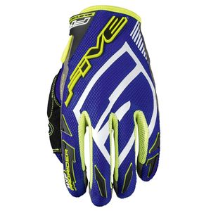 Gants cross MXF PRORIDER S BLUE / FLUO YELLOW 2019 Bleu