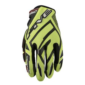 Gants cross MXF PRORIDER S FLUO YELLOW 2020 Bleu