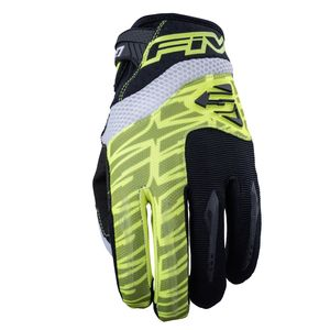 Gants cross MXF2 FLUO YELLOW 2019 Jaune
