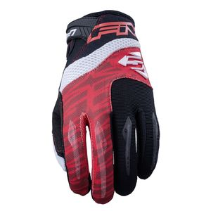 Gants cross MXF2 RED WHITE 2019 Rouge