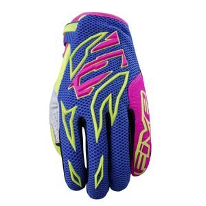Gants cross MXF3 FLASH 2018 Bleu