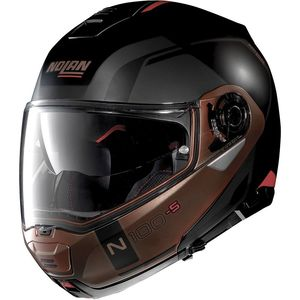 Casque N100.5 - CONSISTENCY N-COM - EX FLAT BLACK/COPPER  Flat black