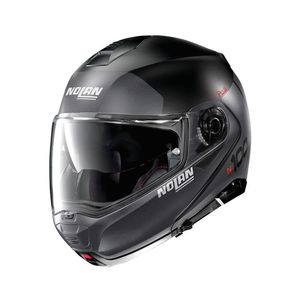 Casque N100.5 PLUS - DISTINCTIVE N-COM - FLAT  Flat black