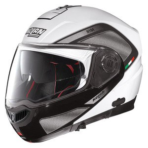 Casque N104 ABSOLUTE - TECH N-COM METAL WHITE  Metal White 28