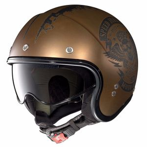 Casque Nolan N21 - Speed Junkies Scratched Flat Copper 52