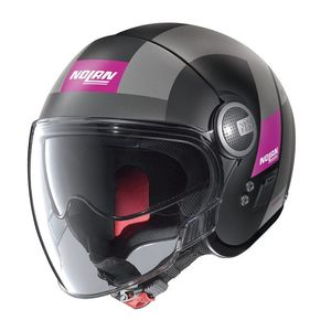 Casque N21 - SPHEROID - FLAT BLACK PURPLE  Flat Black 77