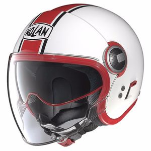 Casque N21 VISOR - DUETTO  Glossy White 8