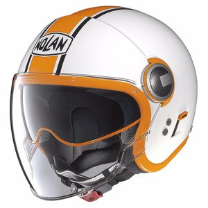 Casque N21 VISOR - DUETTO  Glossy White 9