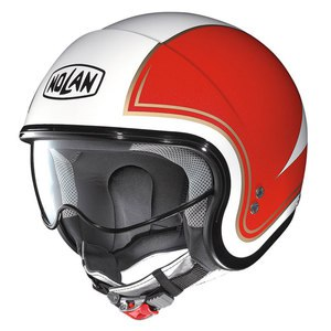 Casque N21 - TRICOLORE  Metal white 31