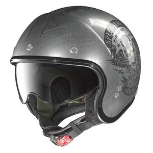Casque Nolan N21 - Speed Junkies Scratched Chrome
