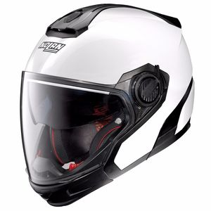 Casque N40.5 GT - SPECIAL N-COM  Pure White 15