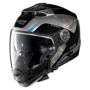 Casque Nolan N44 Evo Viewpoint Scratched Chrome