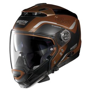 Casque Nolan N44 Evo Viewpoint Scratched Flat Copper