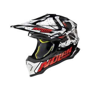 Casque cross N53 - BUCCANEER - BLACK RED 2019 Glossy Black 51