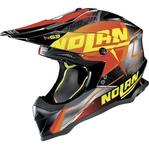 Casque Cross Nolan N53 Sidewinder Chrome 2018
