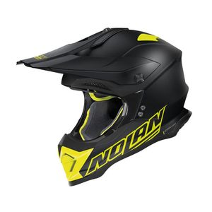 Casque cross N53 - VULTUR 2019 Flat Black 55