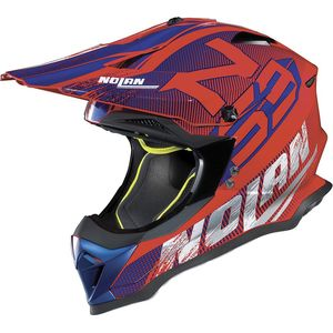 Casque cross N53 WOOP RED 2019 Corsa Red 45