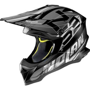 Casque cross N53 - WOOP - BLACK 2019 Flat Black 46