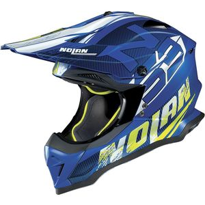 Casque cross N53 - WOOP - BLUE 2019 Flat denim Blue 48