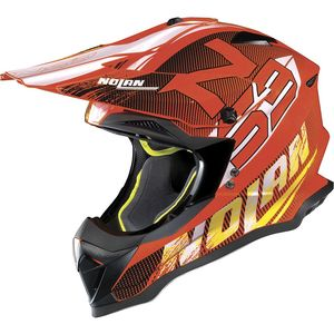 Casque Cross Nolan N53 Woop Led Orange 2018